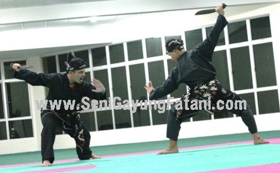 seni silat malaysia tahap 2