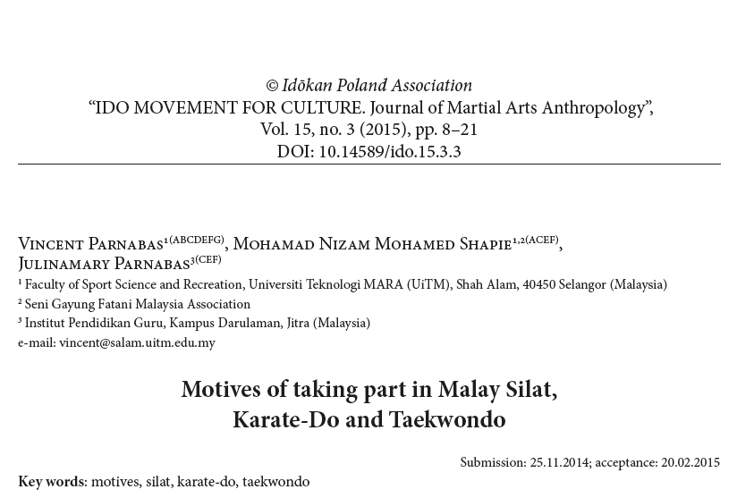 silat research